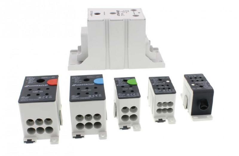 Bloques distribuidores de conexión por tornillo - Bloques distribuidores de conexión por tornillo, el sistema CONTA-CLIP