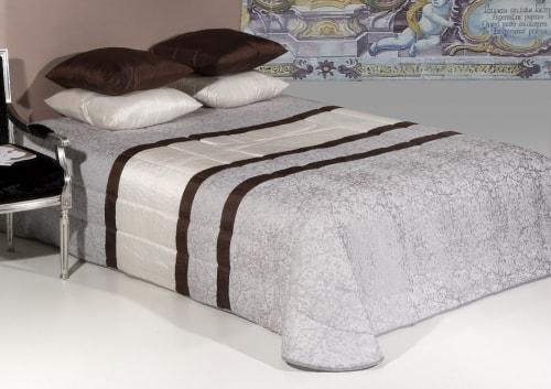 Jacquard bedspread - CORALINA