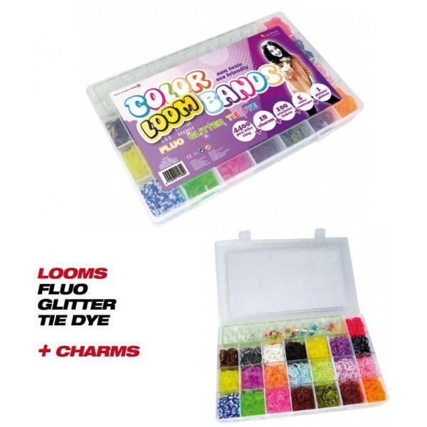 Coffret Color Loom Bands 4.400pièces - null