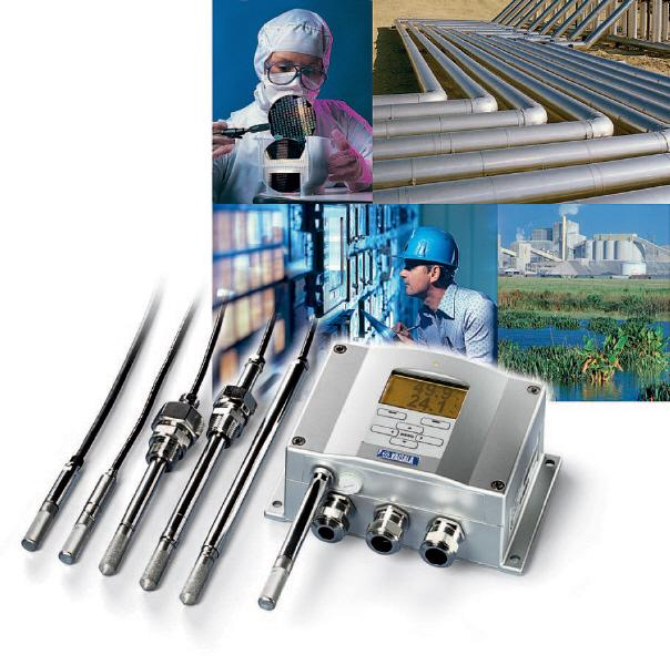 Industrial Humidity Transmitter and Probes - Vaisala HMT330 Humidity & Temperature Sensor