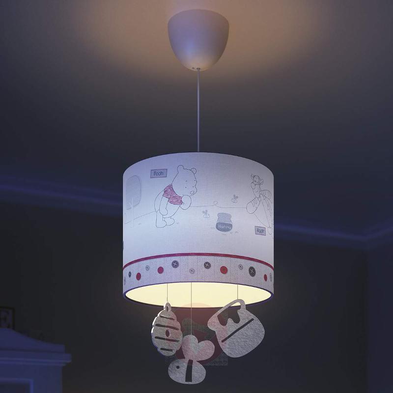 Winnie the Pooh pendant light for children - Pendant Lighting
