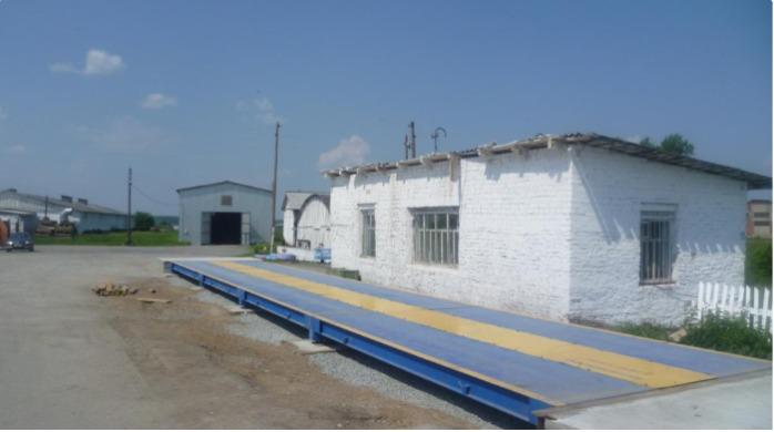 WEIGHTING SYSTEMS - Vitiaz - Static weighing foundation motor-truck scale