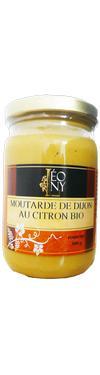 Moutarde de Dijon au Citron Bio 200G - Epicerie salée