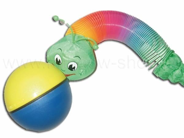 Wiesel am Ball - Wiggle Wormy Wormyball - null