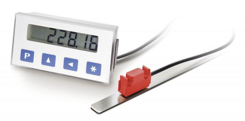 测量显示器 MA564 - 测量显示器 MA564, 准绝对值,电池缓冲 LCD 显示器,显示精确度 10 μm