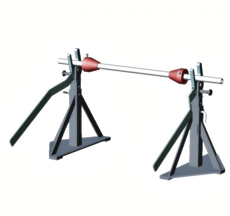 TROMBOI 9-14 - Achsabwickler für Trommeln bis Ø1400 mm und Trommelgewicht 1700 kg