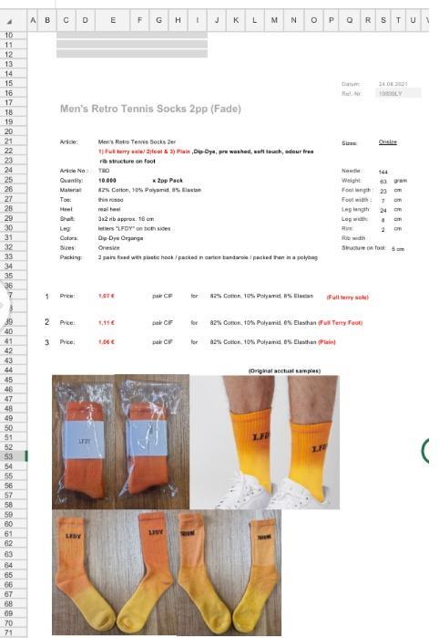 Özel desenli çorap - Dijital baskılı çorap