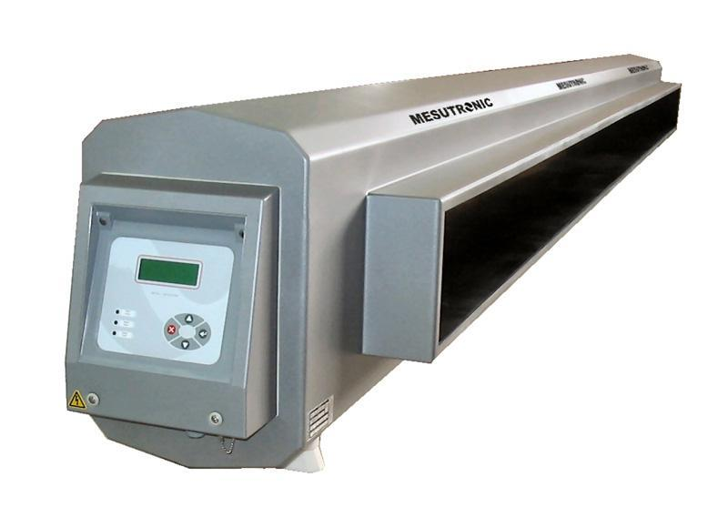 Mid-Range tunnel metal detector with integrated control - METRON 05 CI