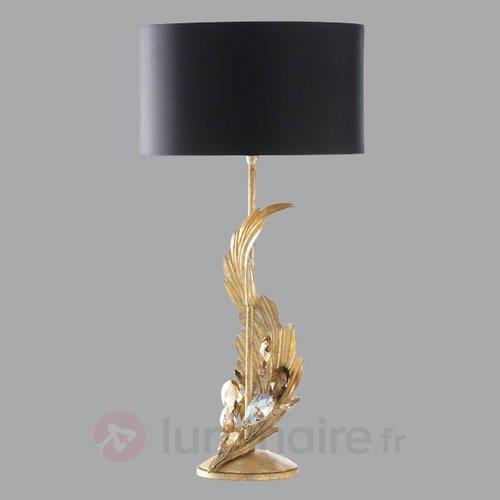 Lampe à poser TIZIAN 57 cm - Lampes à poser en tissu