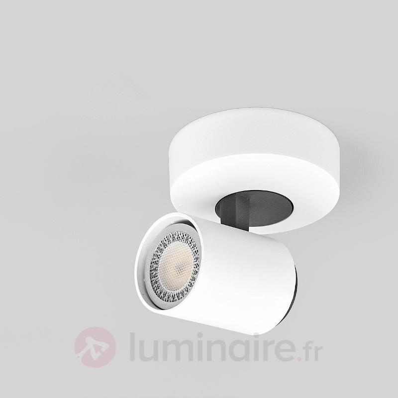 Spot LED Sean en blanc - Spots et projecteurs LED