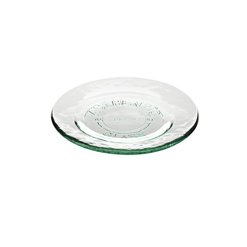 2 piatti in vetro 100%  - Vasellame