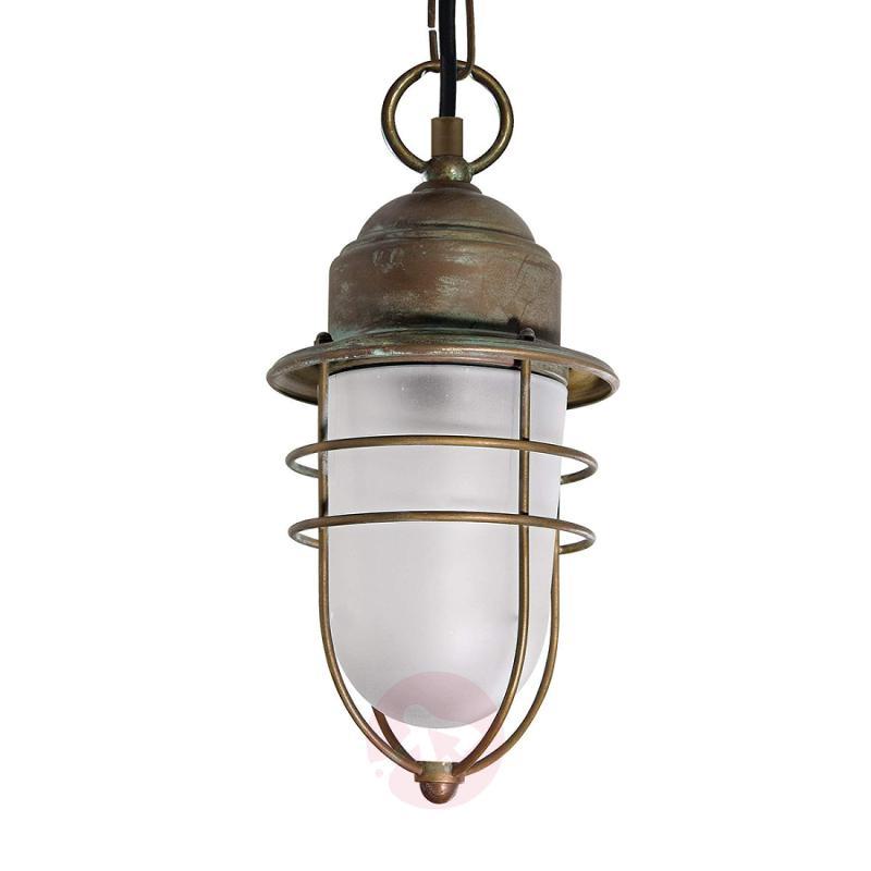 Seawater-resistant outdoor hanging light Matteo - design-hotel-lighting