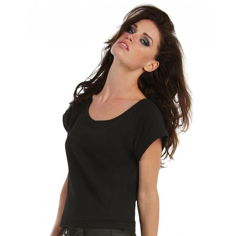 Sweat femme manches courtes - Sans capuche
