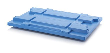 Covers for pallets - Lid for pallets 120 x 80 cm - blue