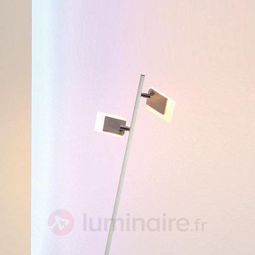 Line - lampadaire LED à deux lampes - Lampadaires LED