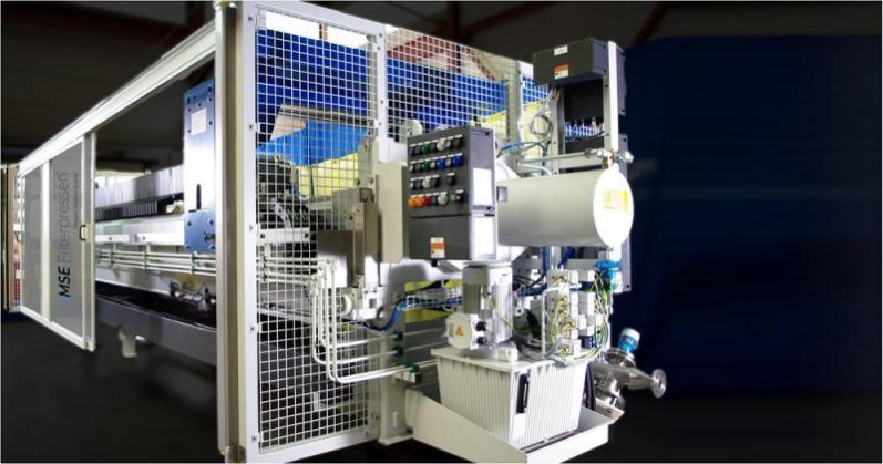 Filtropressa ATEX - La filtropressa ATEX -  Massima protezione per aree potenzialmente esplosive
