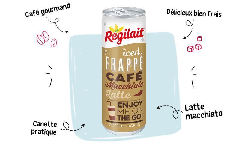 Café latte  - Canette