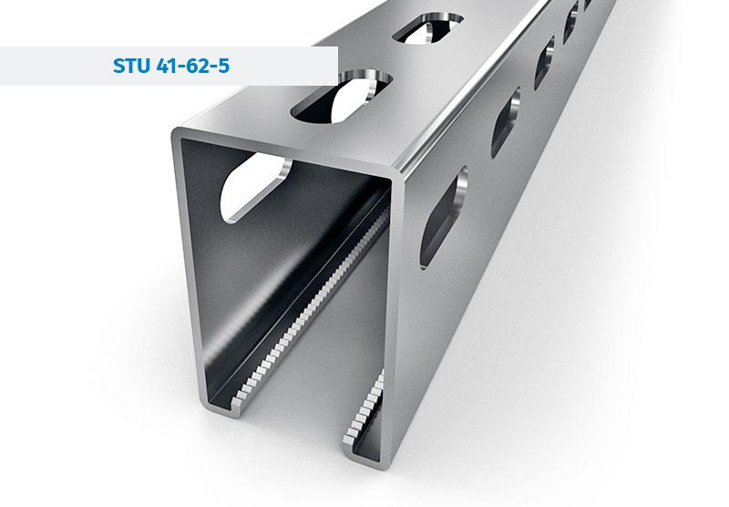 Steel Profiles For Photovoltaics Systems - Steel Profiles designed to construct and mounting of PV systems