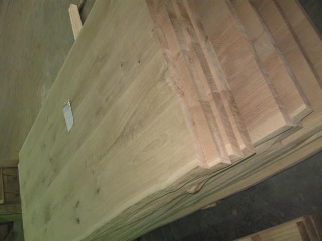 Мебельный щит дуб с живым краем - Дубовый мебельный щит с живым краем