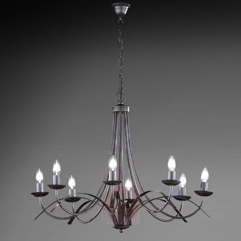 Eight-bulb chandelier Hannes - Chandeliers