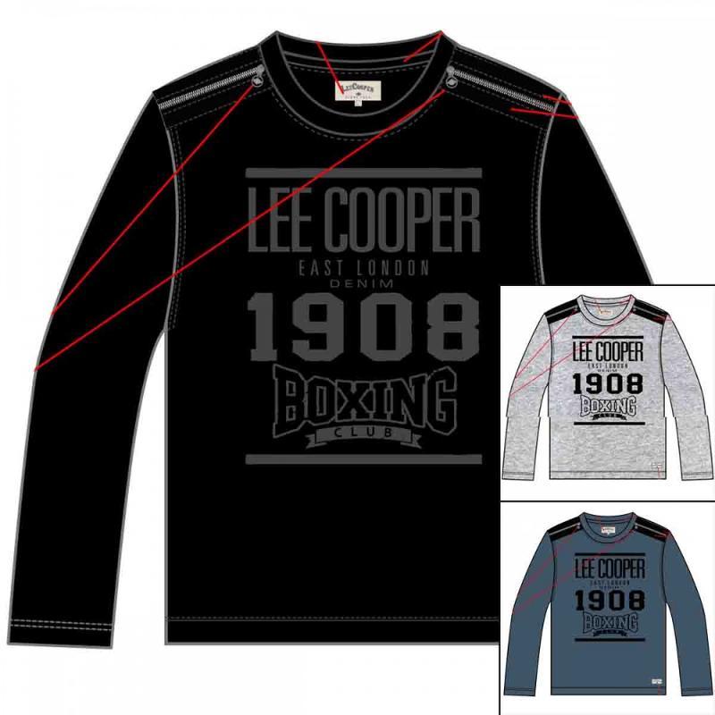15x T-shirts manches longues Lee Cooper du 2 au 5 ans - T-shirt et polo manches longues