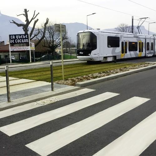 3S route enduit urbain - peinture routière