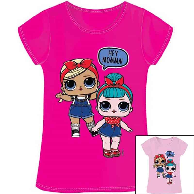 Grosshandel Europa kleidung T-shirt kind LOL Surprise - T-shirt und polo kurzarm