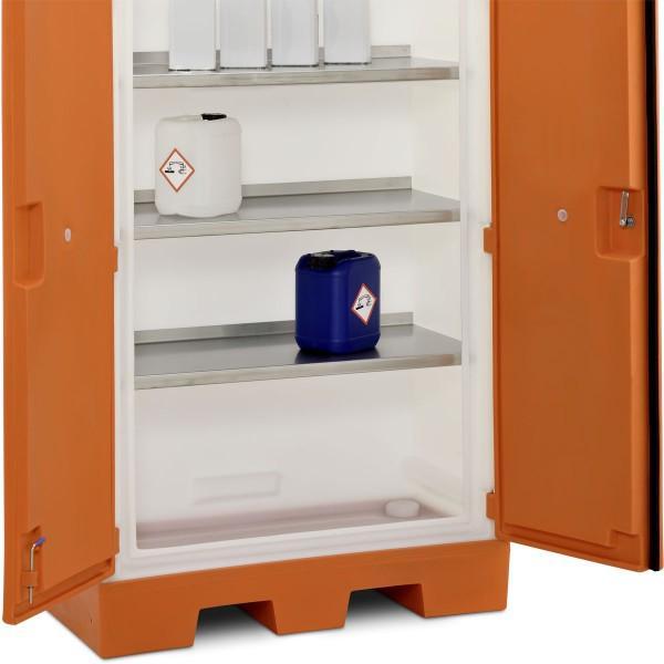 PE-Auffangwanne 40 l als Sockel für PE-Umweltschrank L - Sicherheitsschränke