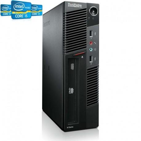 PC Avançado Lenovo Thinkcentre M72 SFF Intel Quad Core i5-33 - recondicionado com garantia