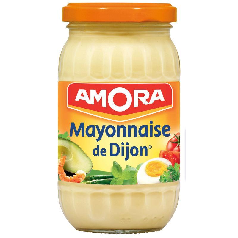 Mayonnaise de Dijon 235g - AMORA - Mayonnaise de Dijon 235g - AMORA