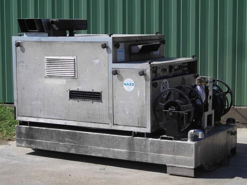 Nettoyeur haute pression eau chaude autonome - SKID 202