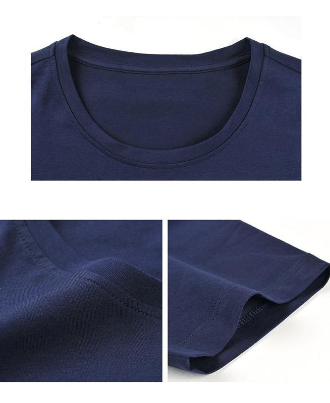 Men's lycra short sleeve T-shirt - round neck T-shirt for men