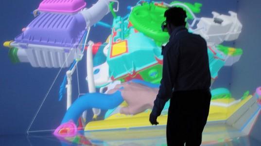 Virtual Assembly - Solution VR pour sélectionner, bouger et manipuler les parties d'un prototype 3D