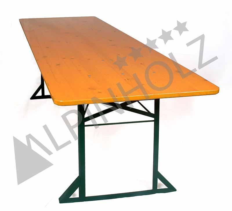MESA CLASSIC TC80 - Mesa plegable Alpinholz