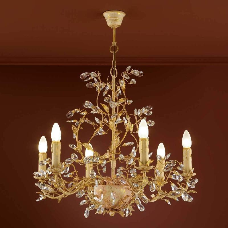 Floral chandelier VERDI - Chandeliers