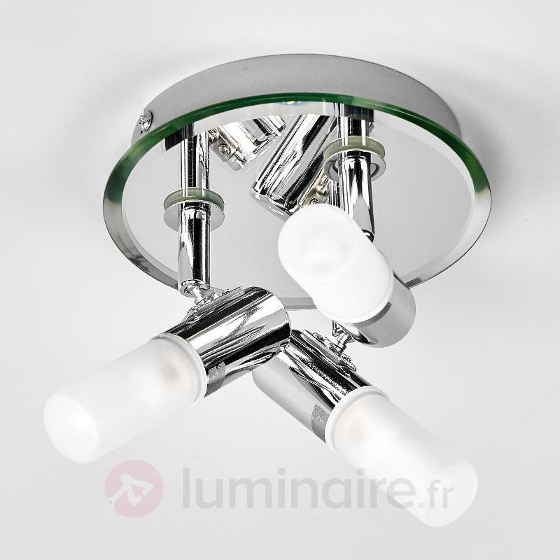 Plafonnier circulaire Jilian pour salle de bains - Salle de bains