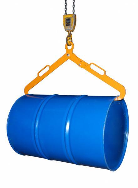 Scherengreifer Typ LG - Zur Aufnahme von liegenden 200-l-Stahl-Spundfässern
