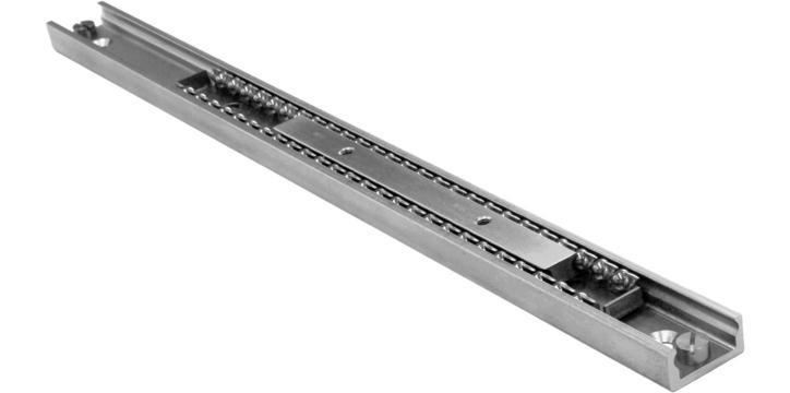 Easyslide - Linear ball rails with single slider or multiple sliders