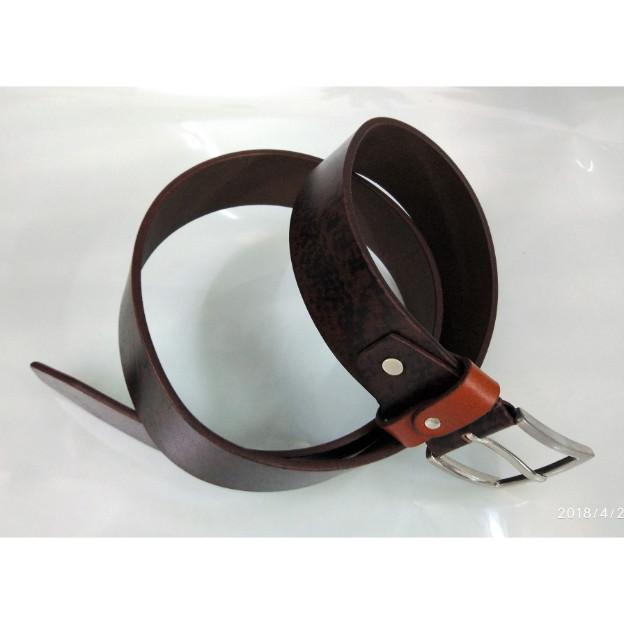 Leather belt for men - Leather grain belt for men