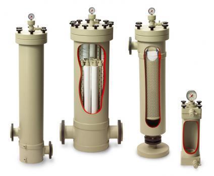 Kerzenfiltergehäuse - SF-Kerzenfiltergehäuse aus Kunststoff für die Flüssigkeitsfiltration
