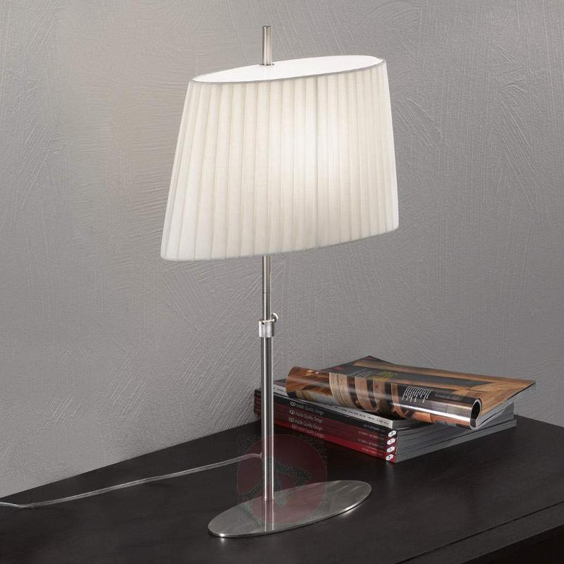 Valentine Table Light Height-Adjustable Fabric - Window Sill Lights