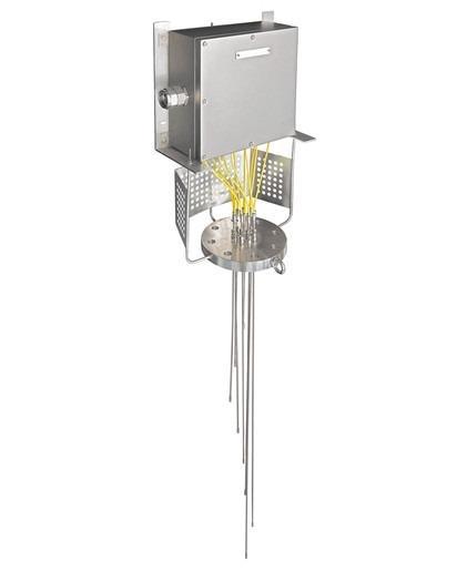 iTHERM TMS01 MultiSens Flex Multipoint - Modulares TC- und RTD-Multipoint-Thermometer für direkten Mediumskontakt