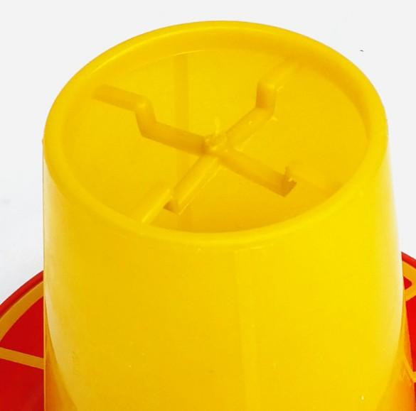 1.5kg Chicken,duck,goose,dove,Quail feeding Barrel/trough - chicken feeders;Chicken Feeder Barrel;poultry feeder