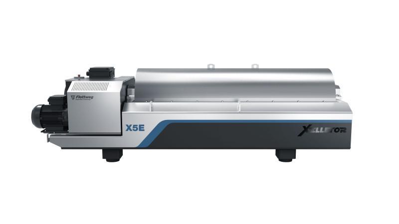 Серия Xelletor - Flottweg Xelletor — Революция в обезвоживании осадка коммунальных сточных вод.