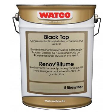 Durcisseur de surface pour trafic intense - Rénov'bitume 5 Litres Noir LQ UN 1263 Rouleau de 31 cm de la