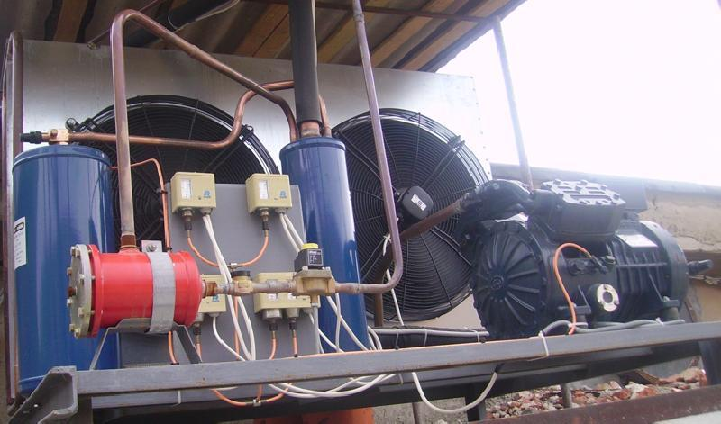 Cooling Equipment Manufacture - Realization and Execution services