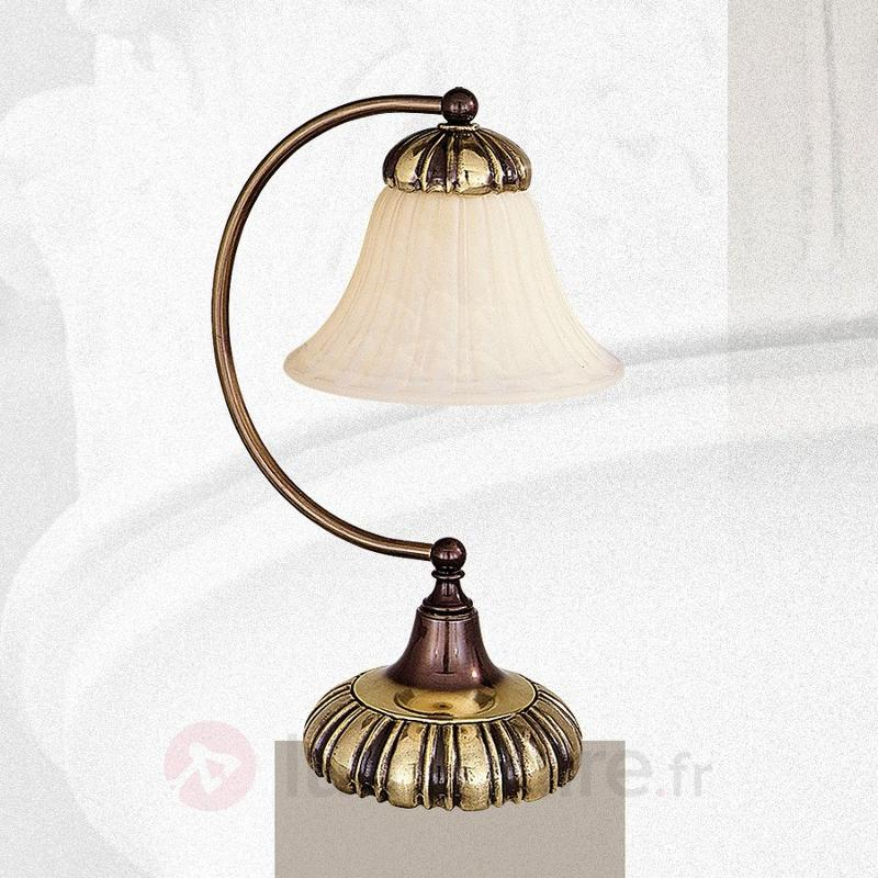 Charmante lampe à poser Léonardo - Lampes à poser classiques, antiques