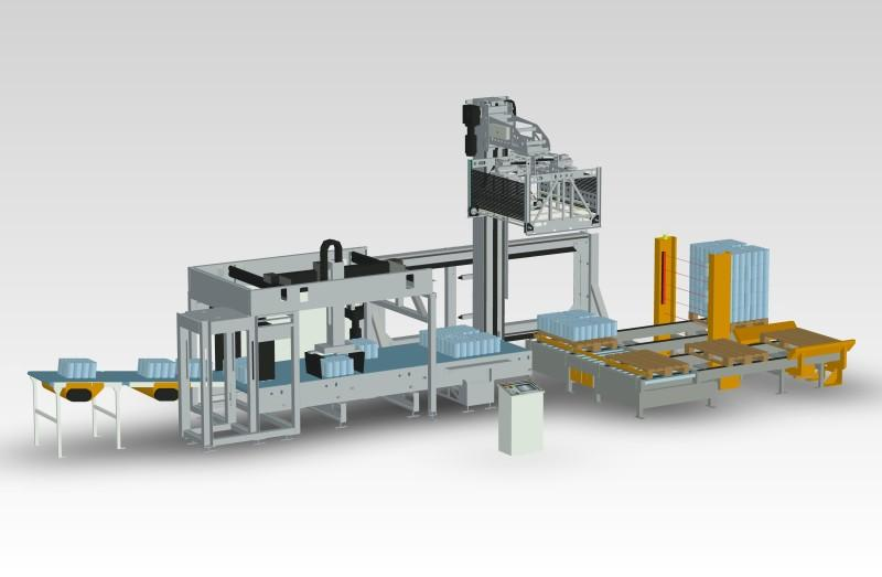 Layer Handling System TheWave - Conveyor and Layer Gripper Combined 'Simply'