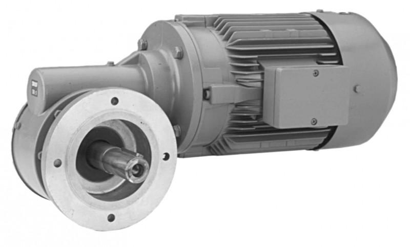 SN10F - Single-stage gear drive with solid shaft