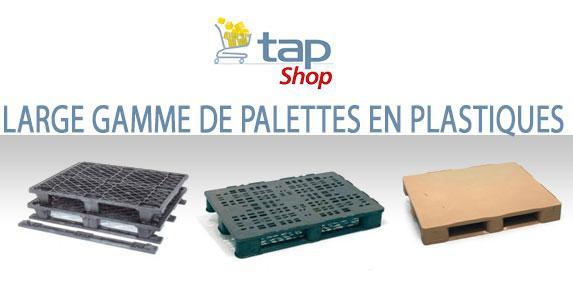 Palette plastique pour transport et stockage